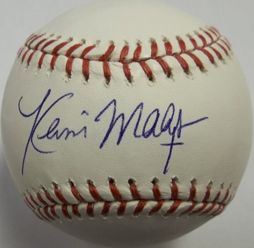 Photo of Kevin Maas Autographed Baseball
