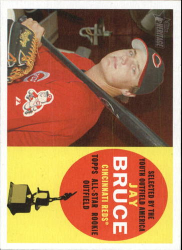 Photo of 2009 Topps Heritage #320 Jay Bruce