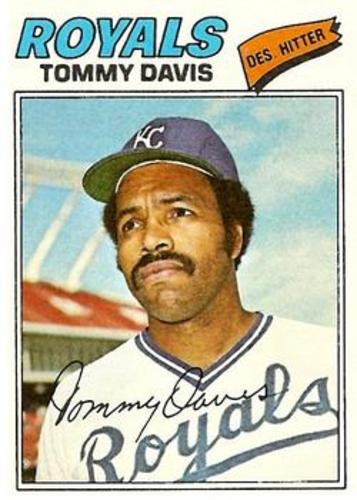 Photo of 1977 Topps #362 Tommy Davis