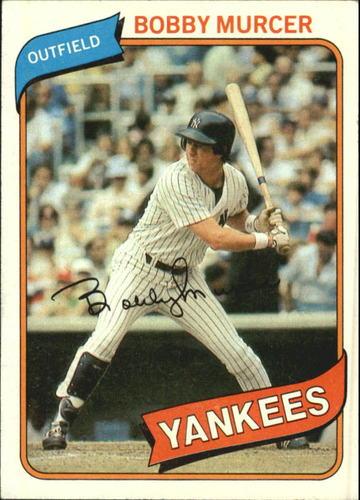 Photo of 1980 Topps #365 Bobby Murcer