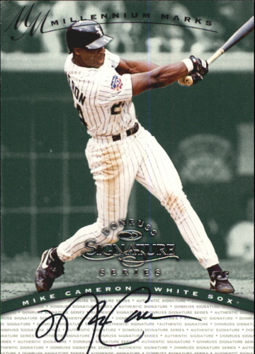Photo of 1997 Donruss Signature Autographs Millennium #21 Mike Cameron