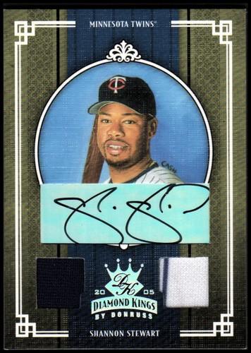 Photo of 2005 Diamond Kings Signature Materials Silver #360 Shannon Stewart Jsy-Jsy/10