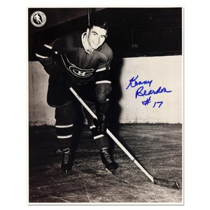 Kenny Reardon Autographed Montreal Canadians 8x10 Photo