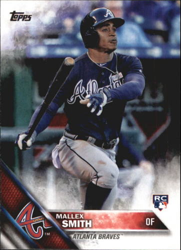 Photo of 2016 Topps Update #US244A Mallex Smith RC