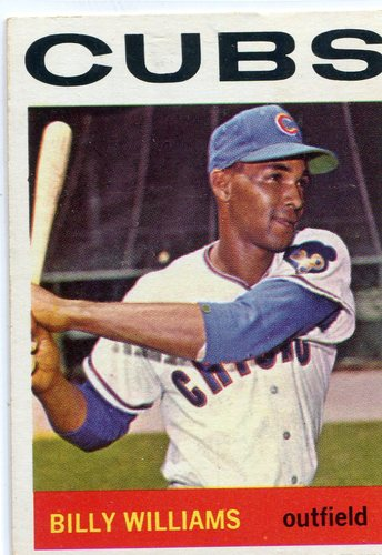 Photo of 1964 Topps #175 Billy Williams -- Cubs Hall of Famer