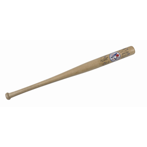 Toronto Blue Jays Mini 2017 Team Signature Bat Natural 18