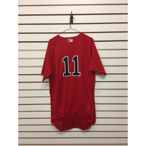 Photo of Clay Buchholz Game-Used September 16, 2016 Home Alternate Jersey