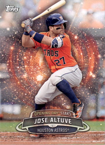 Photo of 2017 Topps Opening Day Opening Day Stars #ODS24 Jose Altuve