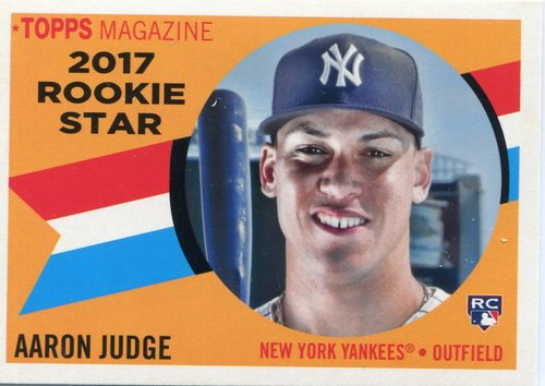 Photo of 2017 Topps Archives '60 Rookie Stars Aaron Judge