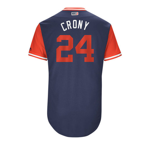 "Photo of C.J. ""Crony"" Cron Los Angeles Angels Game-Used Players Weekend Jersey"