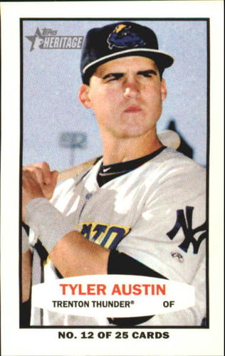 Photo of 2013 Topps Heritage Minors 1964 Bazooka #TA Tyler Austin -- Yankees post-season