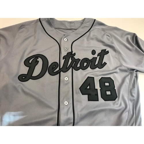 Photo of Game-Used Matt Boyd Memorial Day Jersey