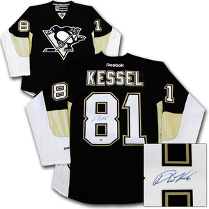 Phil Kessel Autographed Pittsburgh Penguins Jersey
