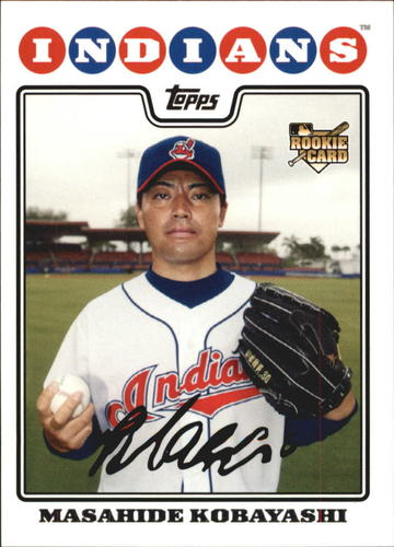 Photo of 2008 Topps #529 Masahide Kobayashi RC