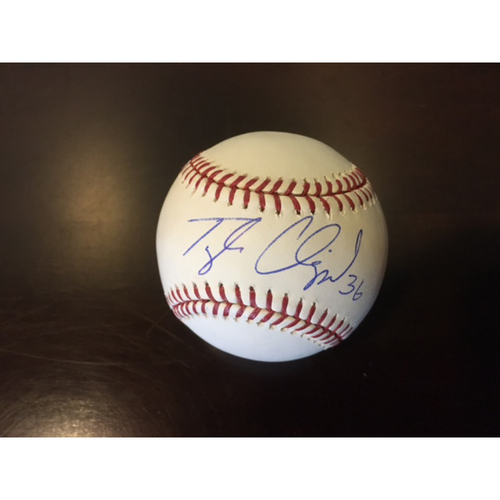 Photo of Giants Community Fund: Tyler Clippard Autographed Baseball