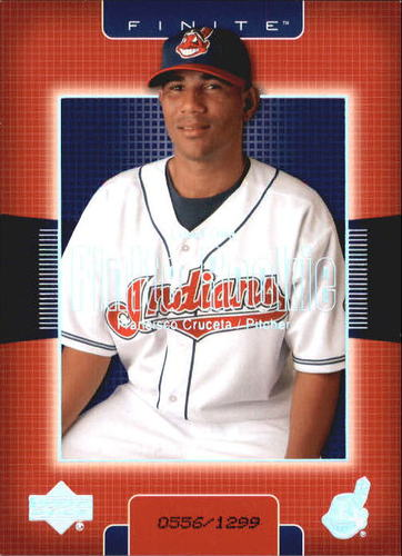 Photo of 2003 Upper Deck Finite #228 Francisco Cruceta T1 RC