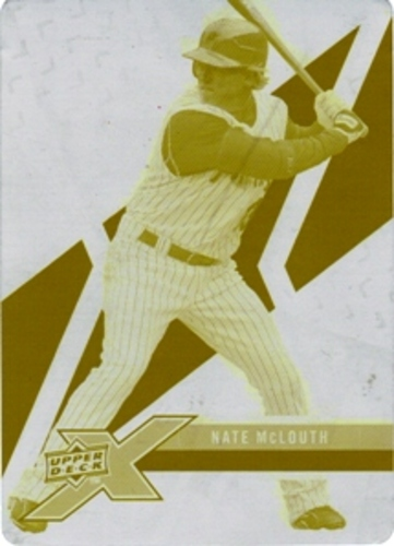 Photo of 2008 Upper Deck X Printing Plates Yellow #78 Nate McLouth 1/1