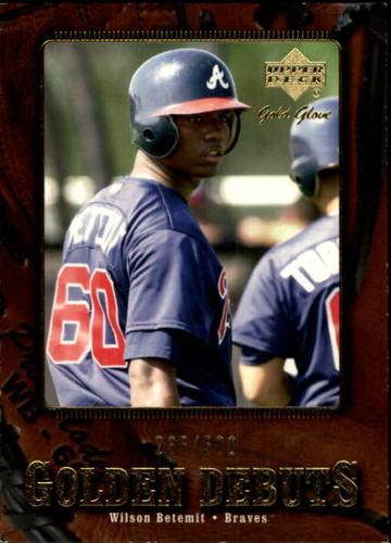 Photo of 2001 Upper Deck Gold Glove #131 Wilson Betemit GD RC