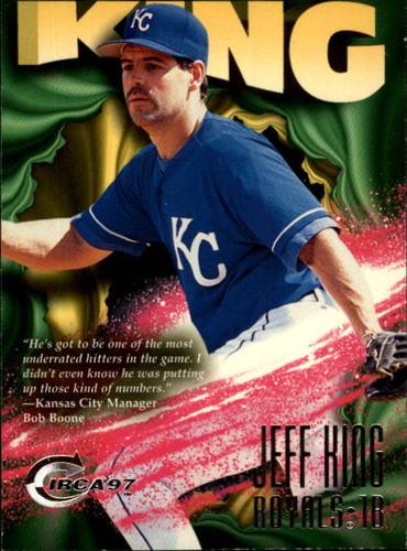 Photo of 1997 Circa #386 Jeff King