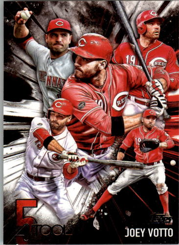 Photo of 2017 Topps Five Tool #5T18 Joey Votto