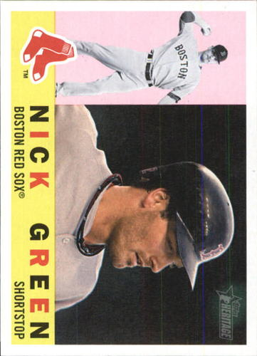 Photo of 2009 Topps Heritage #651 Nick Green