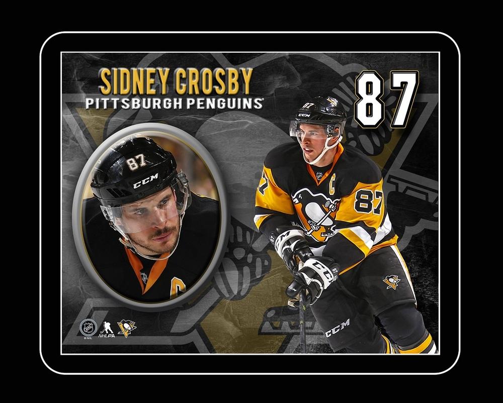 Sidney Crosby - Framed 10x13