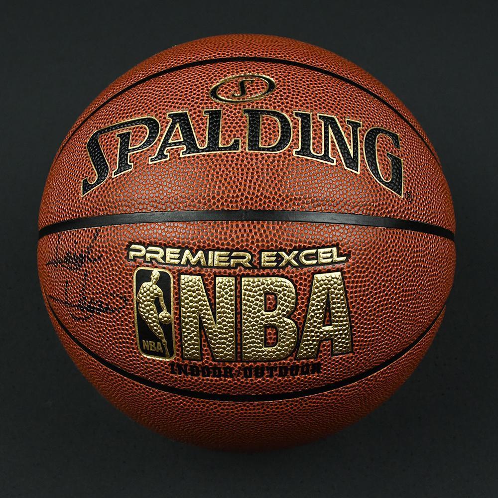 Isiah Thomas - Detroit Pistons - Autographed Basketball