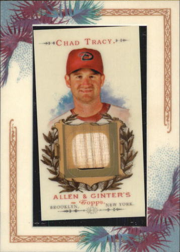 Photo of 2007 Topps Allen and Ginter Relics #CT Chad Tracy Bat G