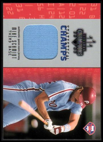 Photo of 2003 Donruss Champions Statistical Champs Materials #13 Mike Schmidt Jsy/250