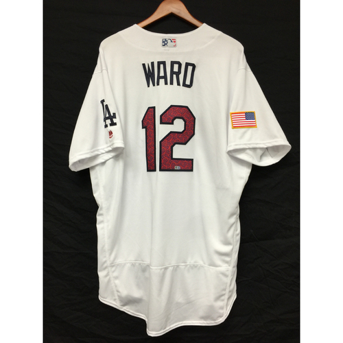 Photo of Turner Ward Game-Used 4th of July Jersey