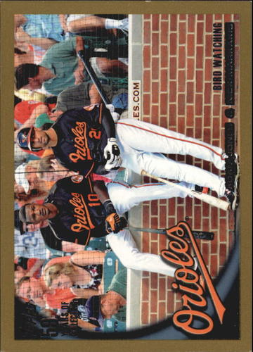 Photo of 2010 Topps Gold Border #543 Adam Jones/Nick Markakis