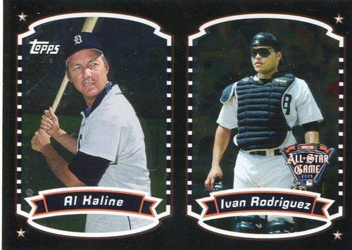 Photo of 2005 FanFest All-Star #9 Al Kaline/Ivan Rodriguez