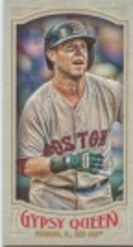 Photo of 2016 Topps Gypsy Queen Mini #149 Dustin Pedroia