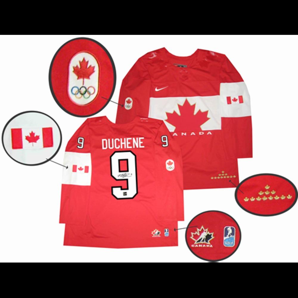 Matt Duchene - Signed Nike Premier Team Canada Red 2014 Olympics Jersey