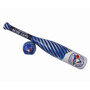 Toronto Blue Jays Softee Bat And Ball Set Royal by Rawlings