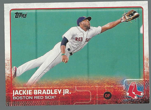 Photo of 2015 Topps #314 Jackie Bradley Jr.