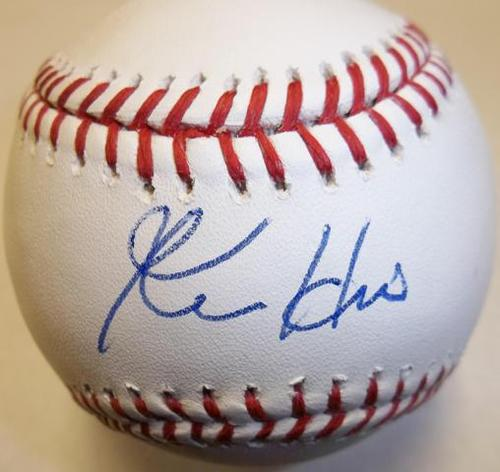 Photo of Ken Hill Autographed Baseball