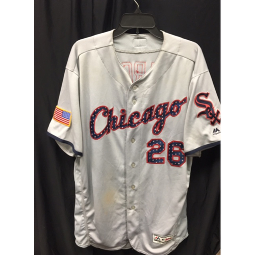 Avisail Garcia Game-Used Fourth of July Edition Jersey - Size 50