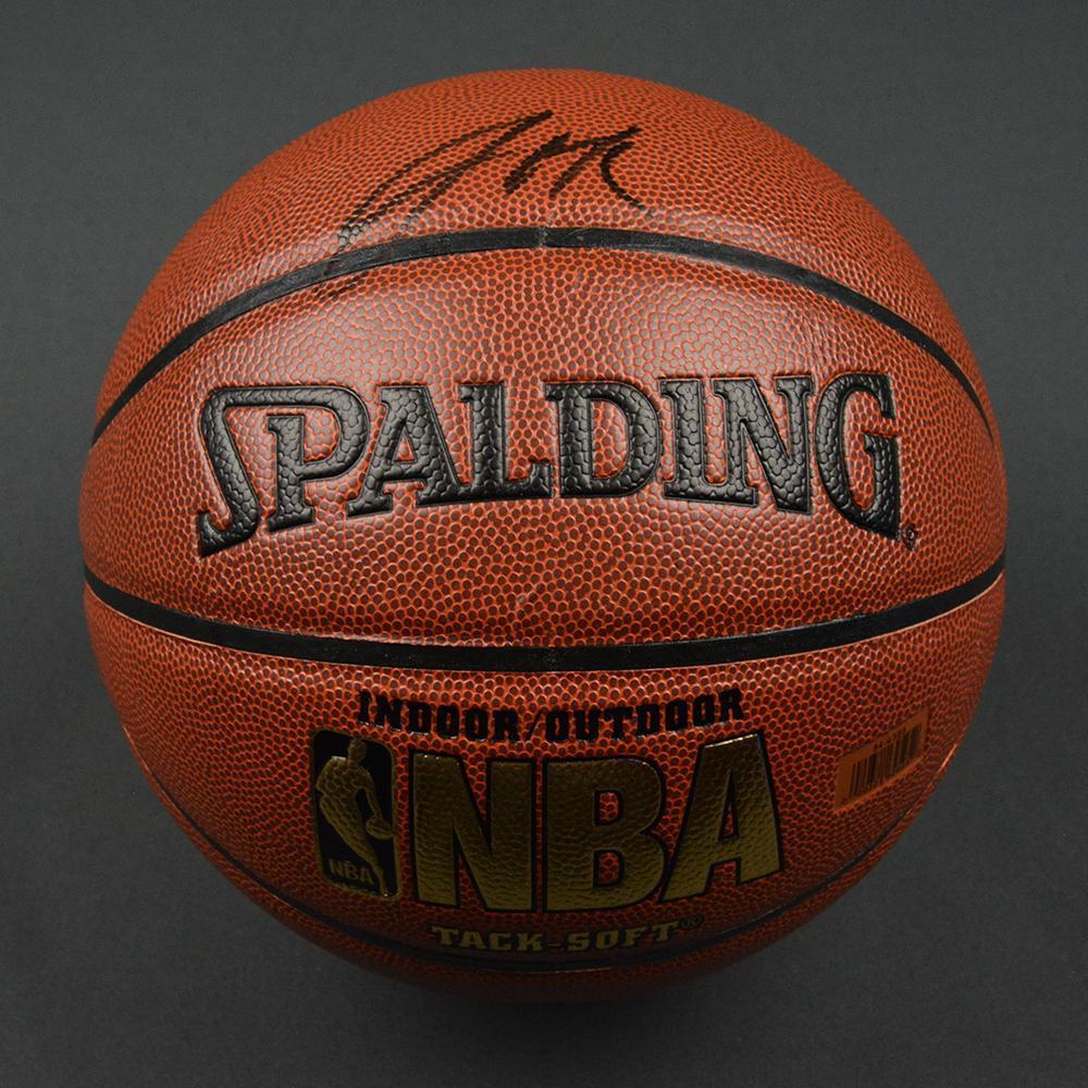 Jahlil Okafor - Philadelphia 76ers - 2015 NBA Draft - Autographed Basketball