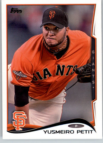 Photo of 2014 Topps #127 Yusmeiro Petit
