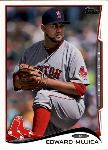 Photo of 2014 Topps Update #US161 Edward Mujica