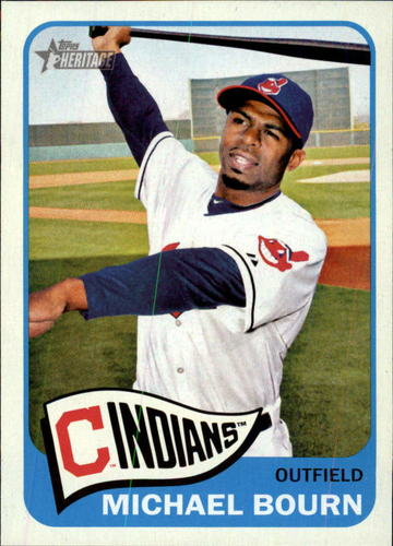 Photo of 2014 Topps Heritage #380 Michael Bourn