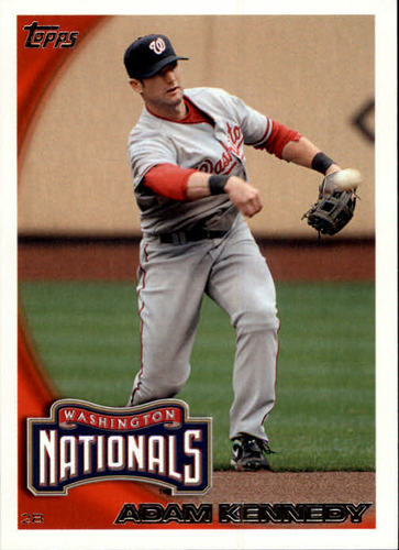 Photo of 2010 Topps Update #US289 Adam Kennedy