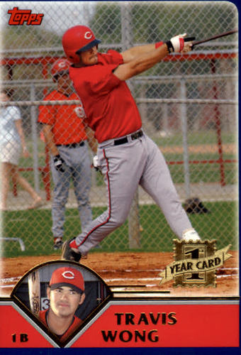 Photo of 2003 Topps Traded #T207 Travis Wong FY RC