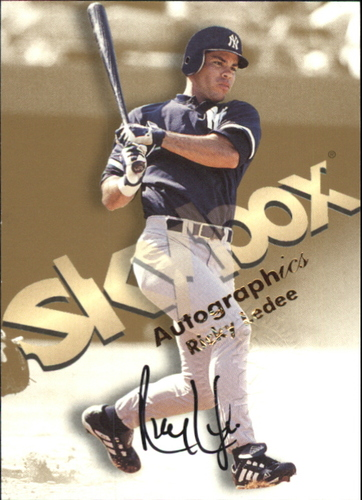 Photo of 1999 SkyBox Premium Autographics #34 Ricky Ledee