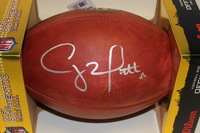 NFL - PACKERS CLAY MATTHEWS SIGNED AUTHENTIC FOOTBALL