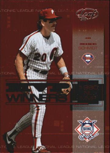 Photo of 2004 Leaf MVP Winners #5 Mike Schmidt