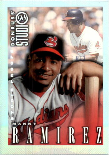 Photo of 1998 Studio Silver Press Proofs #164 Manny Ramirez