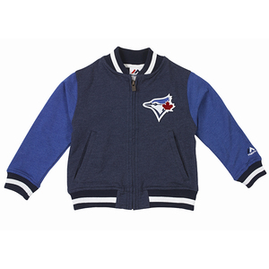 Toronto Blue Jays Toddler/Kids Varsity Jacket by Majestic