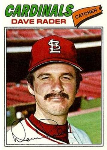 Photo of 1977 Topps #427 Dave Rader